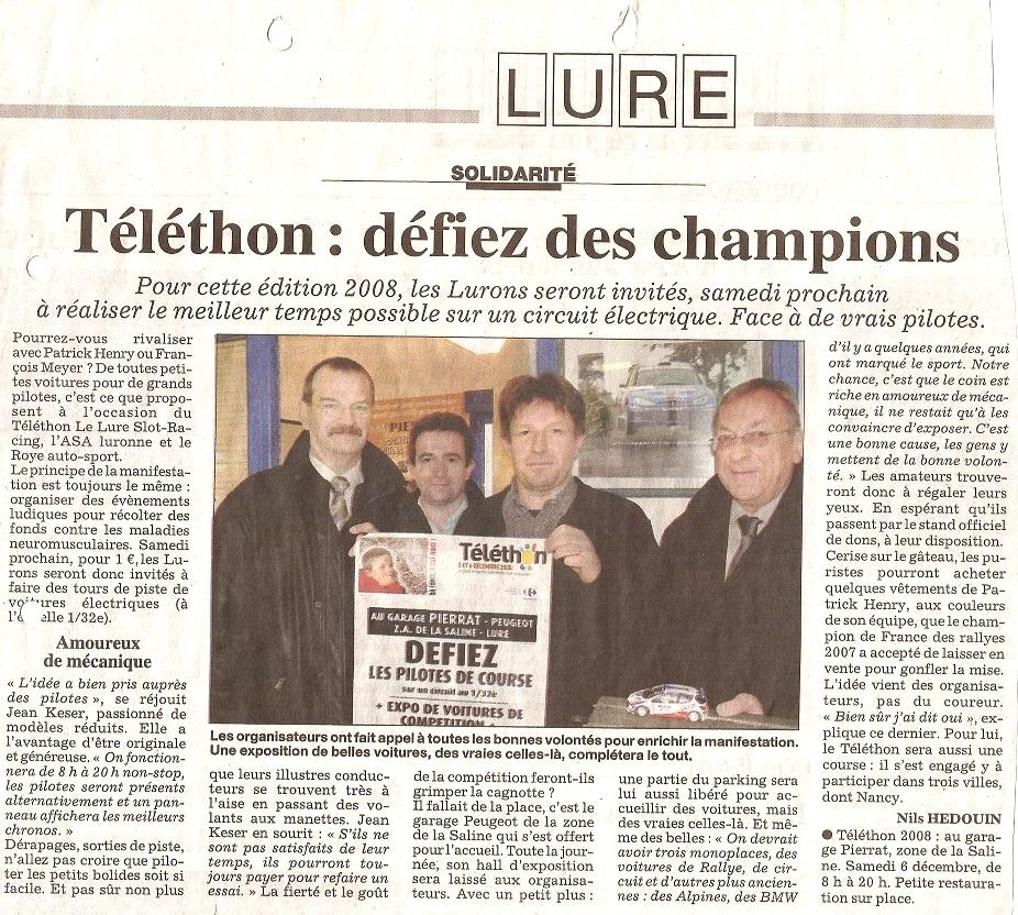 Press telethon 2 2008